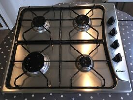 Stainless Steel Integrated Gas Hob