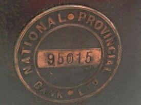 Vintage National Provincial Bank Ltd Moneybox (no key)