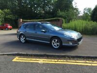 Peugeot 407 SW diesel Estate Car