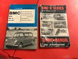 BMC Mini Manuals/Handbooks