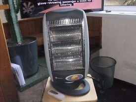 halogen heater oscillating remote control timer