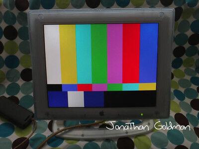 "Apple Studio Display 15"" M7613 Graphite Digital DVI Display Monitor Vintage RARE, used for sale  Shipping to Canada"