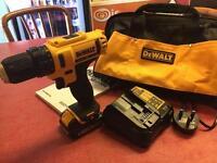 Dewalt drill brand new barely used
