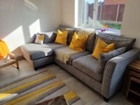 Next Sofa - Excellent Casual Comfort Corner Chaise - Left Hand