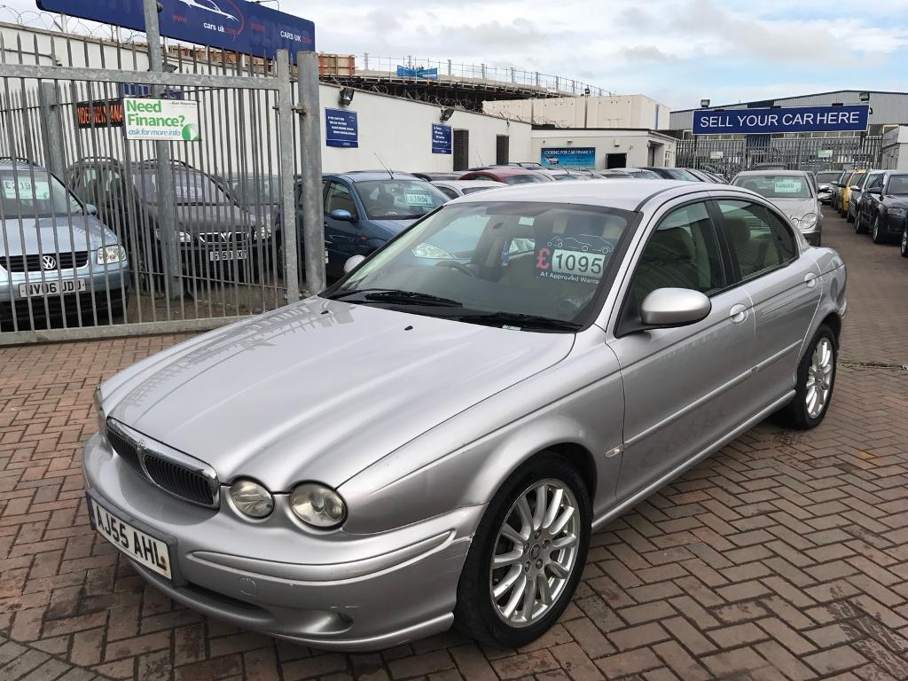2005 55 JAGUAR X TYPE DIESEL SUPERB CONDITION FOR THE YEAR AND MILES LEATHER INTERIOR NICE SPEC MOTD