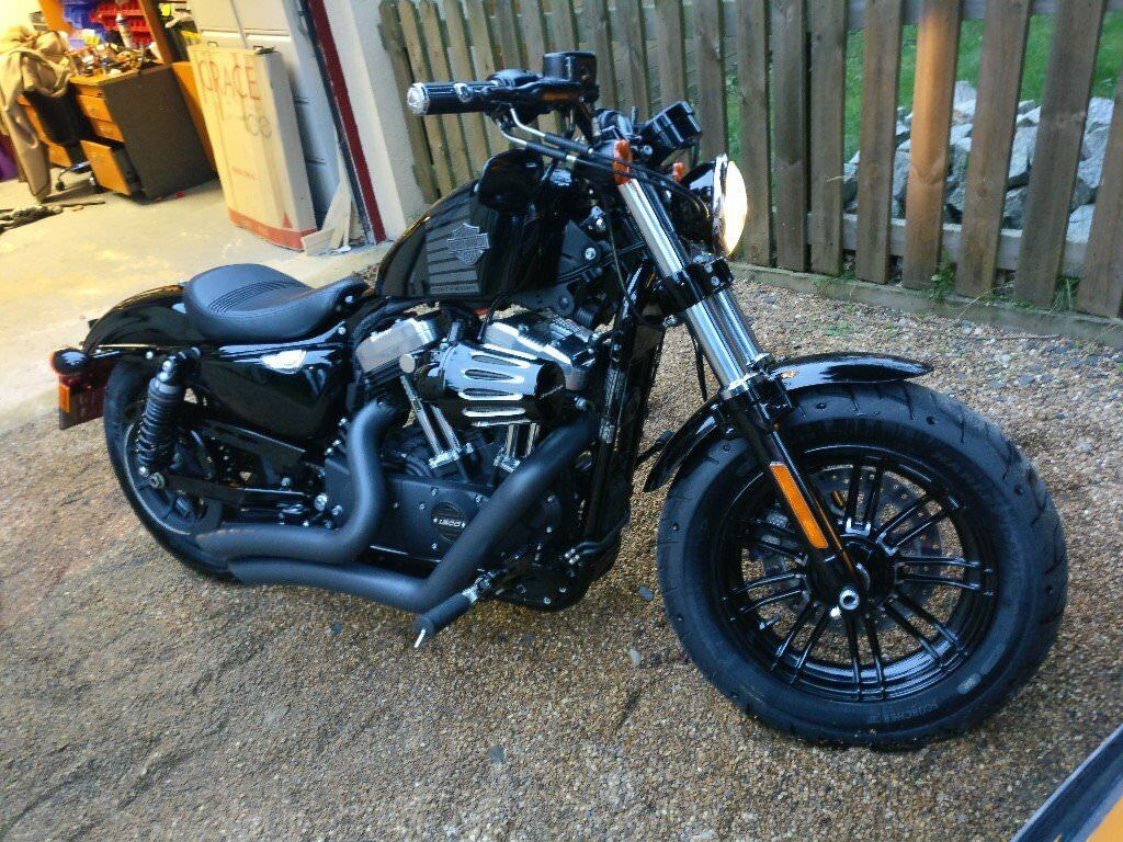harley davidson xl 1200 x forty eight 16 full stage 1 kit total 2000 of accesories in. Black Bedroom Furniture Sets. Home Design Ideas