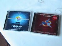 PAIR OF EUROVISION SONG CONTEST CDs RIGA 2003 &ATHENS 2006 (DOUBLE CD) CMC label