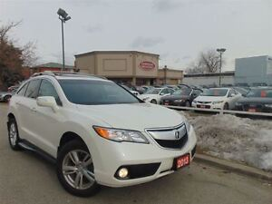 2013 Acura RDX ONE OWNER-AWD-FACTORY WARRANTY