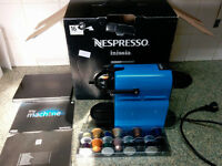Nespresso Inissia M105 Magimix Coffee Machine 16 Capsules included - Blue