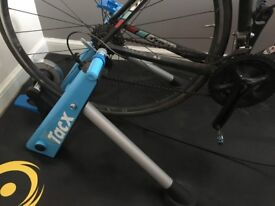 Tacx Blue Matic Folding Magnetic Trainer Hardly Used