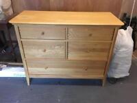 Willis & Gambier 5 drawer chest unit
