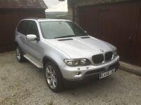 BMW X 5 3.0ltr diesel Sport