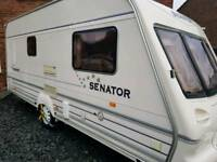 Bailey 2 berth caravan full set up