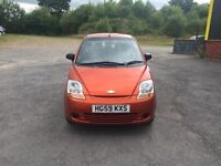 CHEVROLET METIZ S 800cc 5 door h/back 59/2009 1 lady keeper from new 79k service history 7 stamps in
