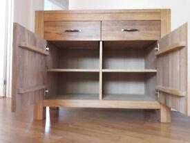 Solid Oak Sideboard - fantastic quality