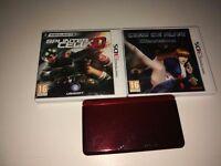 NINTENDO 3DS + 2 Games + 2 GB memory card