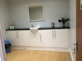 Therapy rooms and or/ office space available in well established modern Podiatry Practice.