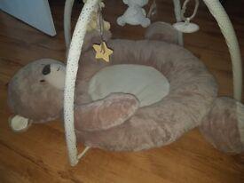 Large teddy bear play mat