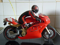 Thunder Tiger Ducati 999r electric R/C Motorcycle 1/5 scale