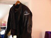 Scott Venom Leather Jacket – size 50 UK – Unwanted Gift.