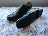"""Clarks Formal Black Leather shoes """"Brand New"""" size 9.5"""