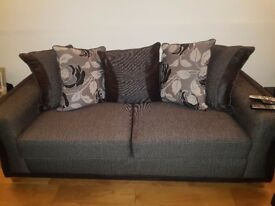 3 seater sofa & 2 arm chairs