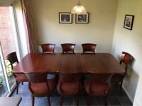 Solid Maple Dining Table & Chairs