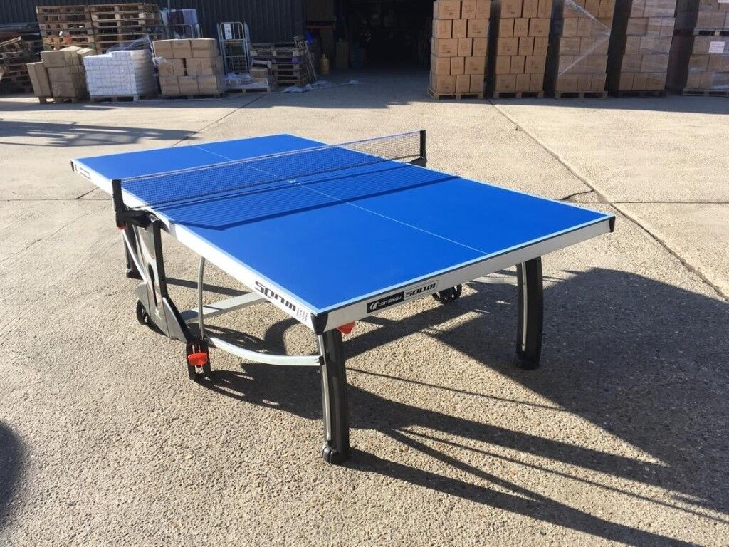 Cornilleau performance 500m crossover outdoor table tennis table assembled good condition - Gumtree table tennis table ...