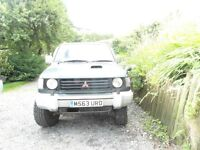 Mitsubishi Pajero 2.8td - Non-runner. FOR spares