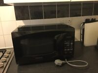 Daewoo Microwave Black in good condition