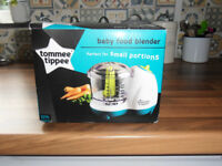 TOMMEE TIPPEE BABY BLENDER,DISHES AND SPOONS NEW IN BOX