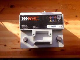 Car Battery - 12v Varta - Issued by RAC
