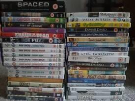 Lots of DVDs!