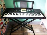 Yamaha YPT-220 Digital Keyboard and stand.