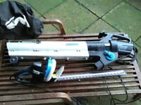 Hege trimmer and garden vac