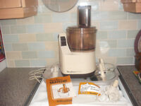 Vintage Moulinex Multichef Food Mixer.