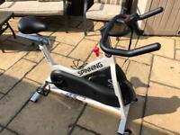 Spinning Spinner S1 (White Indoor Spin Bike)