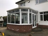 Used PVC White Victorian Conservatory (Buyer To Dismantle)