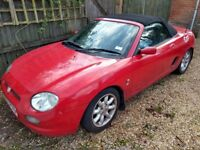 MG F - SPARES AND REPAIRS - FAILED MOT - SOUND ENGINE, GEARBOX AND TYRES