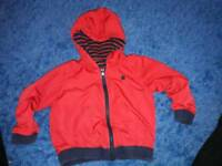 Next reversible jacket says aged 2-3yrs but more 1half-2yrs