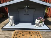 Garden dog shed