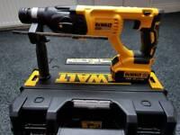 Dewalt 18v xr brushless sds drill (makita hilti Milwaukee Bosch ryobi Hitachi)