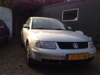 NEAT LEFT HAND DRIVE VOLKSWAGEN PASSAT SALOON CAR, DRIVES PERFECTLY, PAPERS SORTED & FREE DELIVERY
