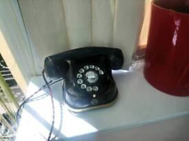 Old antique telephone