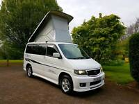 1 OWNER! MAZDA BONGO AUTO FREE TOP! FULL REAR KITCHEN CONVERSION! TV, AERO BODYKIT! SKYLINE ROOF!