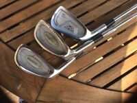 3 LEFT HANDED GOLF CLUBS