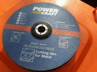 Angle grinder 230mm Metal and Stone cutting discs New unused.