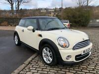 2011 '11' Mini Cooper D, 1.6, 3DR, Chilli Pack, Long MOT, £0 Tax, 80 MPG.