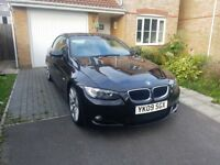BMW 320i convertable. Great example of a great car. Good condition for age.