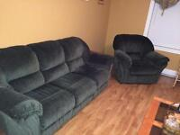 Nice recliner and couch